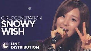 GIRLS' GENERATION - Snowy Wish (Line Distribution)