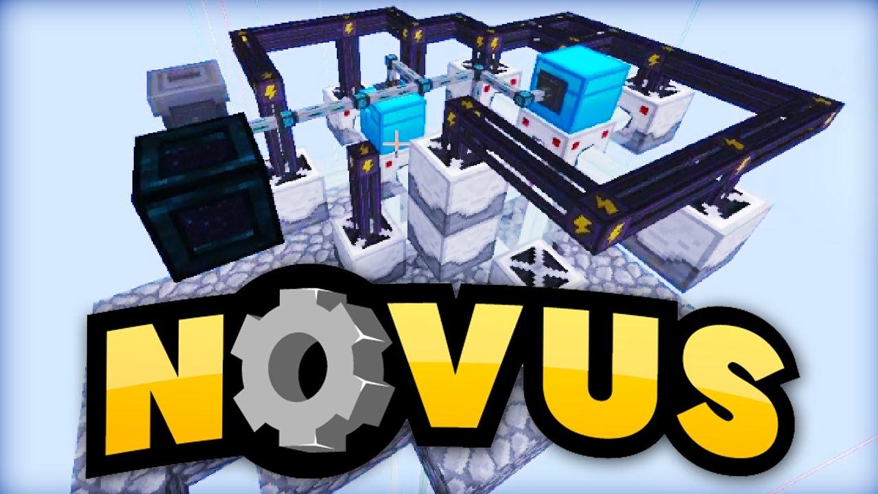 Lpmitkev logo  3-Fach-LASER-System! - Minecraft NOVUS #95 - YouTube