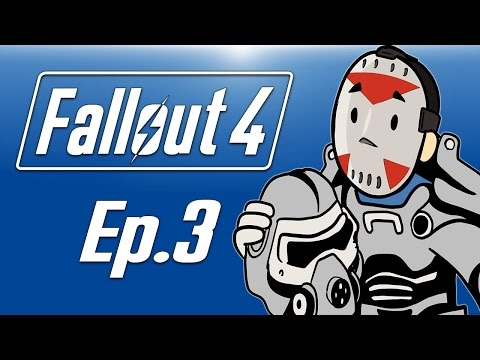 Delirious plays Fallout 4! Ep. 3 (Fighting a DeathClaw!!!!) Power Suit!