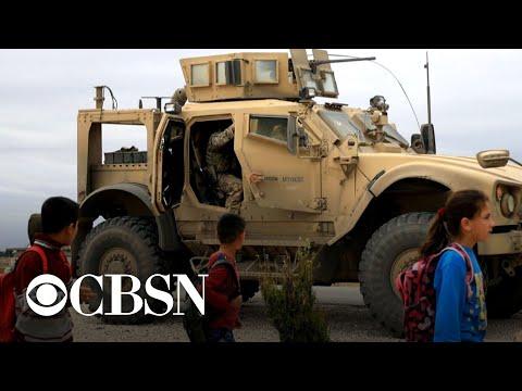 U.S. troop withdrawal from Syria gets underway