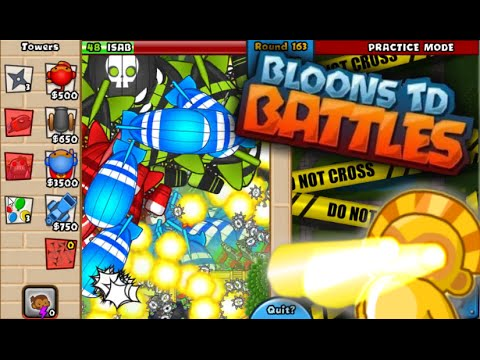 Bloons TD Battles Insane Late Game - Highest Round World ...
