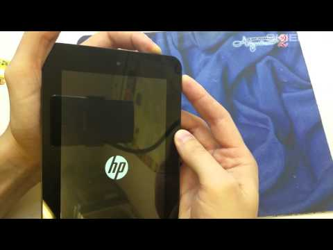 Tablet HP Slate 7 HARD RESET