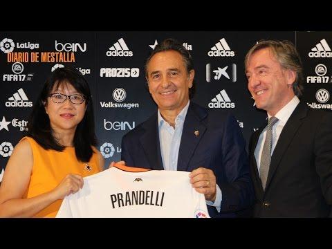 Presentación de Prandelli