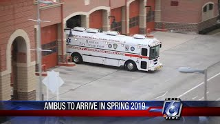 Ambulance bus set to arrive this Spring