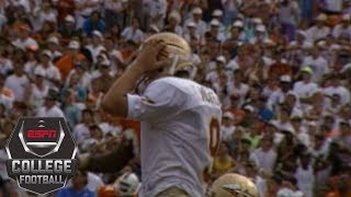 Wide Right II lifts Miami past Florida State in 1992 college football classic | ESPN Archives