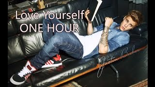 Justin Bieber - Love Yourself - ft. Ed Sheeran (ONE HOUR)