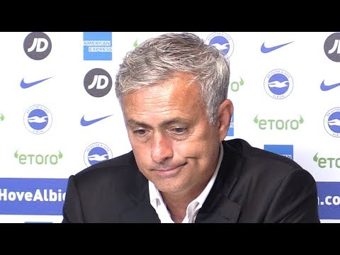 Brighton 3-2 Manchester United - Jose Mourinho Full Post Match Press Conference - Premier League