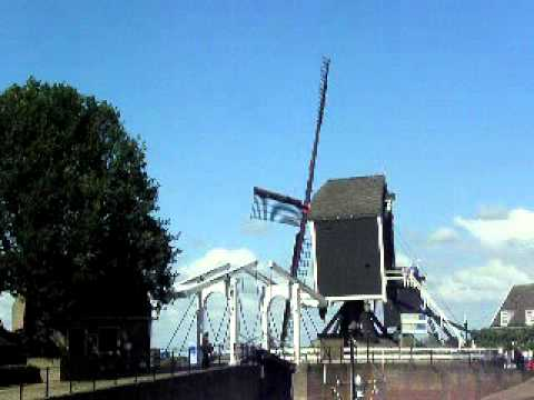A Post-mill in Heusden - The Netherlands