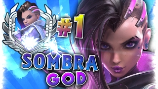 "[Best #1 World SOMBRA Player] Moments Montage  | Sombra God Player ""Codey""  Overwatch Gods"