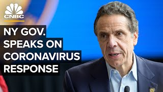 New York Gov. Andrew Cuomo holds a briefing on the coronavirus outbreak — 7/6/2020
