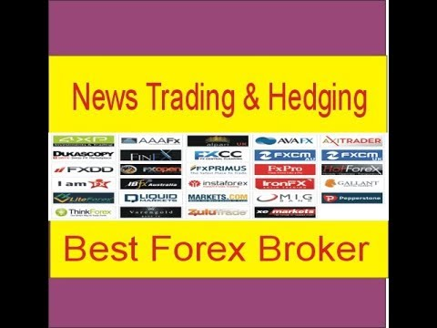 Low Spread and Best Forex Broker For News Trading And Hedgin