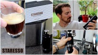 STARESSO - Portable Espresso / Cappuccino Maker, Review and Demo