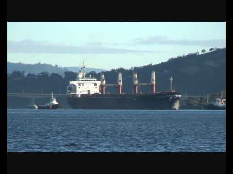 Western Sahara plunder shipment to Tasmania
