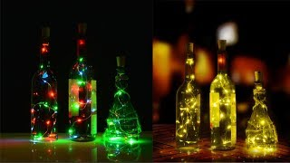 Copper Wire Corker String Fairy Lights for Glass/Craft/Bottle