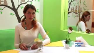 Мария Орловская Семена чиа смузи и спортивная форма Ресторан СОК Запорожье