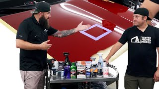 What's THE BEST Product To Use On My Car's Paint? | Round 3 Real World Detail Product Testing
