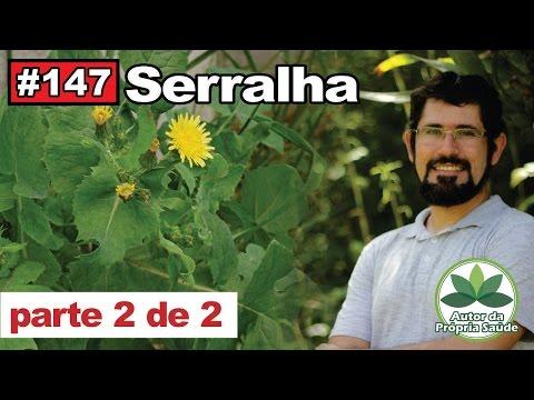 Autor da Própria Saúde - Serralha PARTE 02 [vitiligo, câncer, diabetes, colesterol, ansiedade]