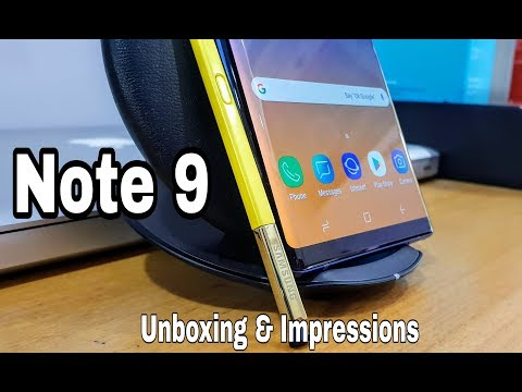 Note 9 Unboxing & Impressions | [512 GB] Ocean Blue !