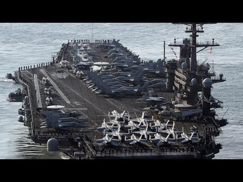 BREAKING 3rd Aircraft Carrier in Korean Region TRUMP READY for WAR with North Korea October 2017