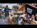 Flea Market Vlog + Haul // The Coast Vintage Market