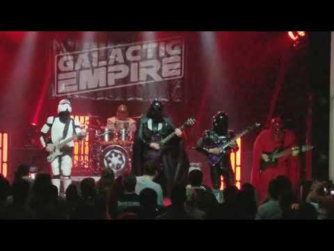 Galactic Empire - Star Wars Main Title (Live) Raleigh, NC 7-14-17