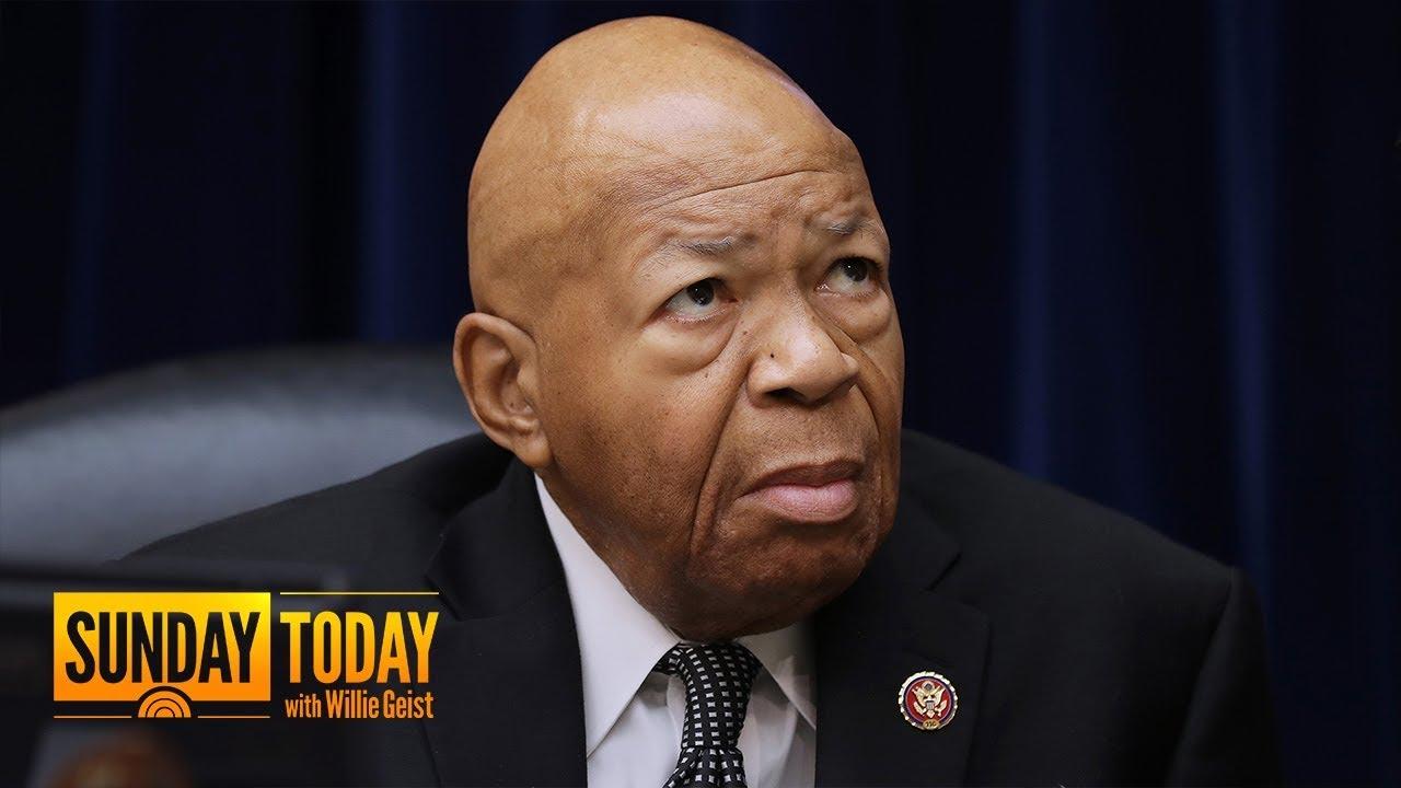 Rep. Elijah Cummings defends Baltimore in wake of President Trump's Twitter assault
