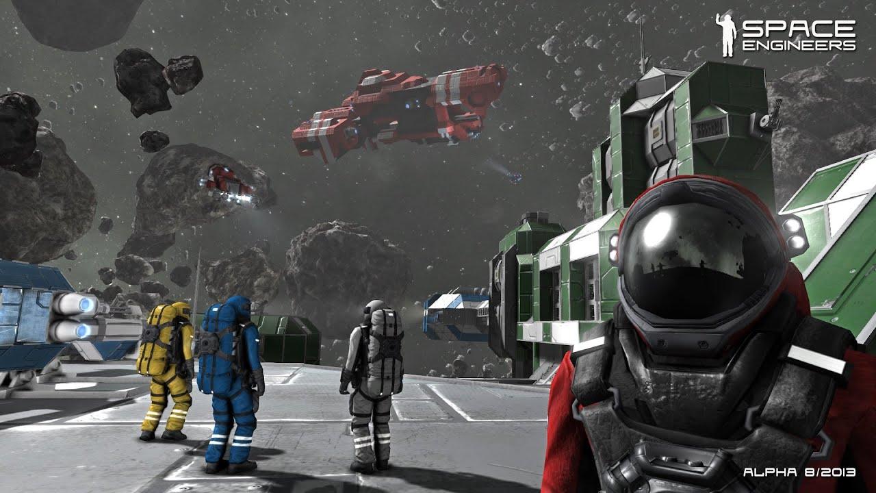 Видео игры space engineers