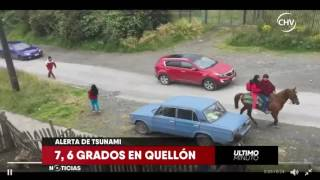 Chilevisión - EXTRA - Terremoto en Chiloé (25-12-2016)