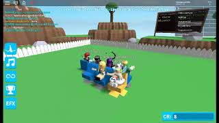I WAS SO CLOSE TO THE SEAT IN MUSICAL CHAIRS!!! (Roblox Musikstühle)