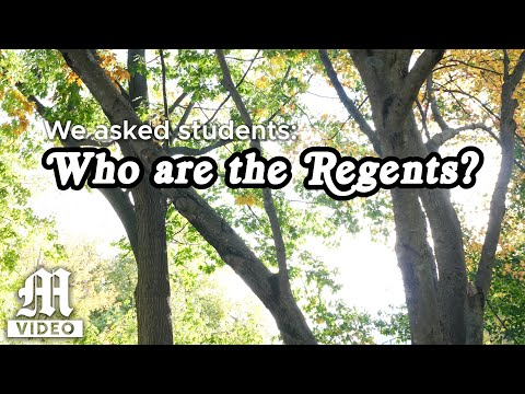 Who are the regents?