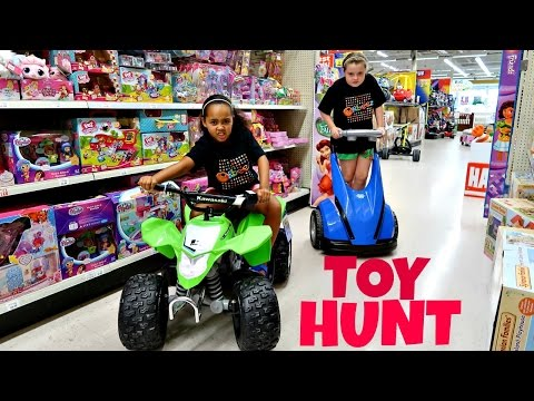 Thumbnail: Toy Hunt At Toys R Us Shopkins Season 6 - Monster High - Barbie - Minecraft Toy Opening