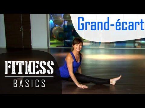 fitness basics comment apprendre faire le grand cart. Black Bedroom Furniture Sets. Home Design Ideas