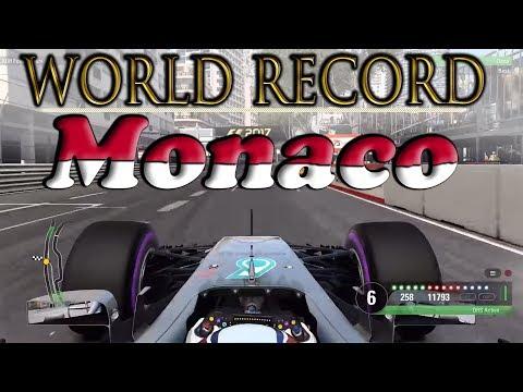 F1 2017 Monaco WORLD RECORD / 1.08.750