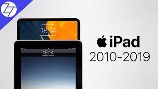 The Evolution of the iPad - 2010 vs 2019
