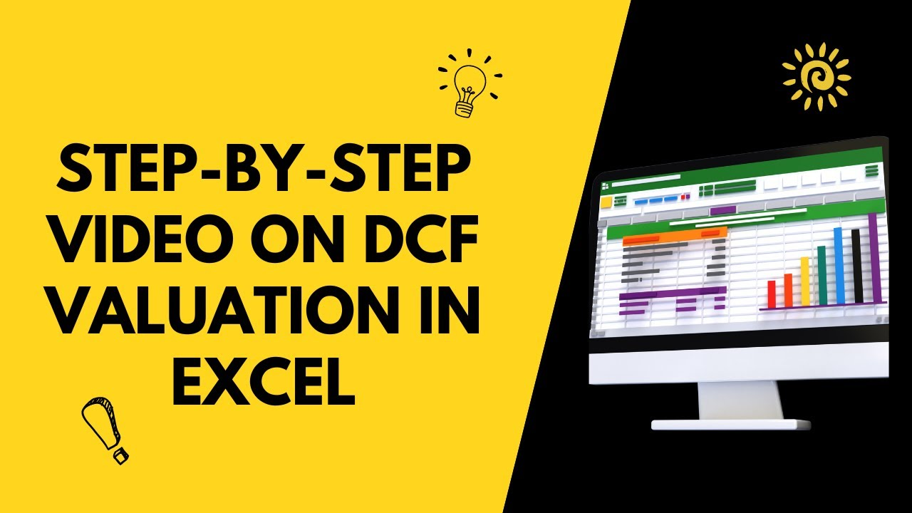 DCF, Discounted Cash Flow Valuation in Excel Video - YouTube