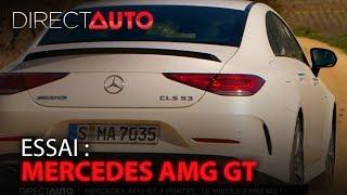 ESSAI : MERCEDES AMG GT 4 PORTES