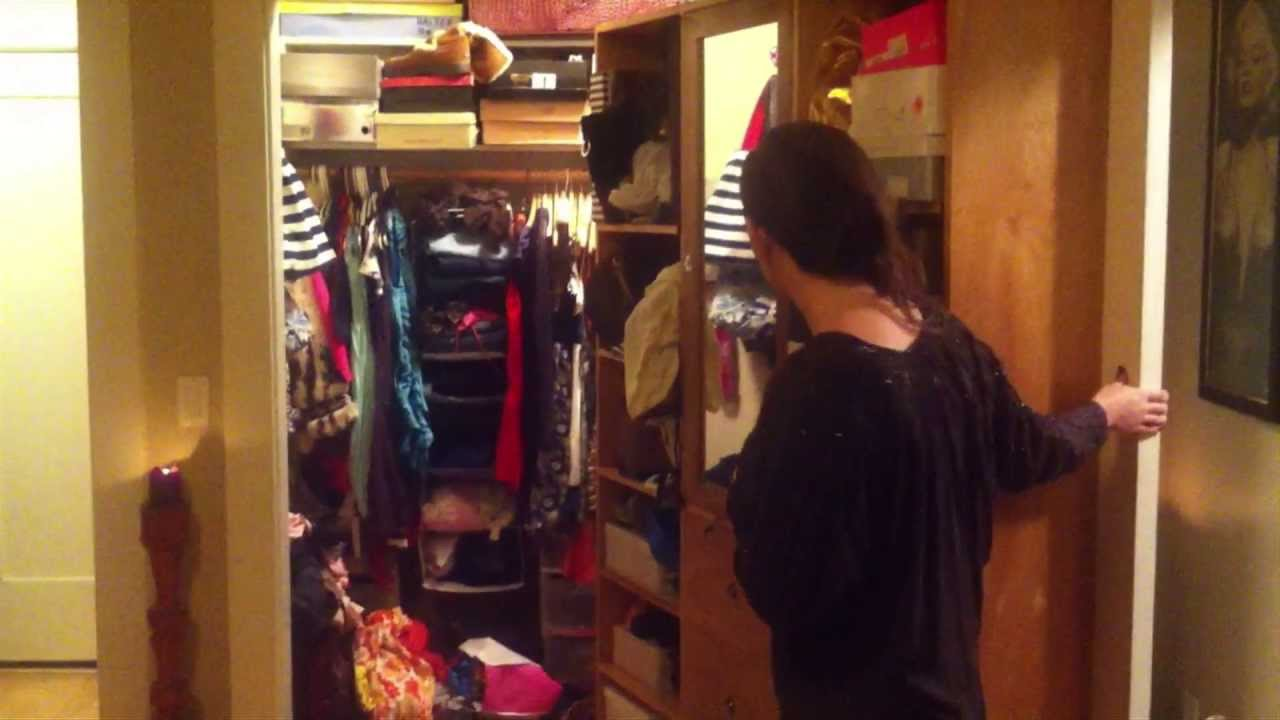 Rotating Closet Door Tour Youtube