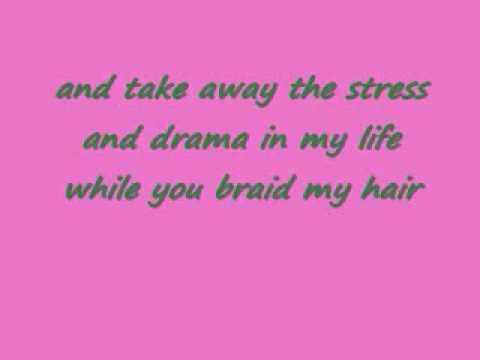 MARIO BRAID MY HAIR/WITH LYRICS