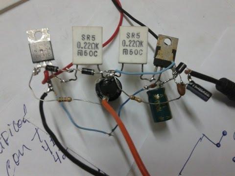 Mini amplificador  tip 41 e 42 Fácil de montar, Parte