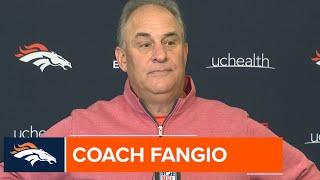 Coach Fangio: Drew Lock is 'progressing the way we had hoped'