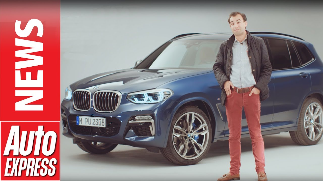 2017 Bmw X3 Revealed Full Details On S New Mid Size Suv