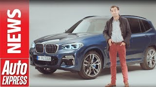 2017 BMW X3 revealed: full details on BMW's new mid-size SUV