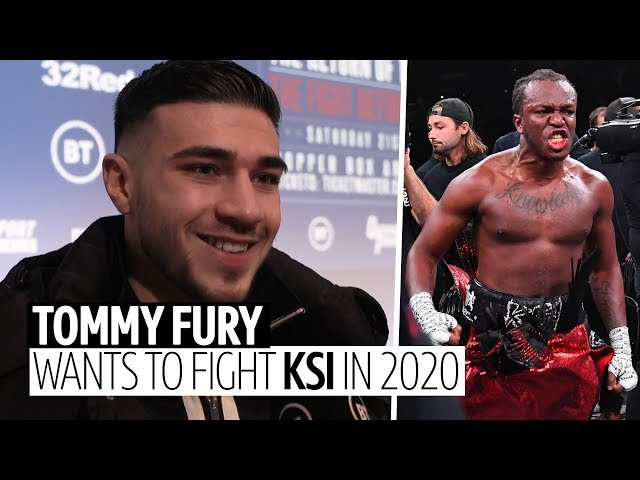 """""""I want to fight KSI in 2020!"""" Tommy Fury challenges KSI to take on a professional boxer"""