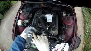 BMW E38 E39 Thermostat replacement DIY, M60, M62, M62-TU Engines