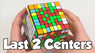 How to Solve Last Two Centers on Big Cubes | Cube Ed