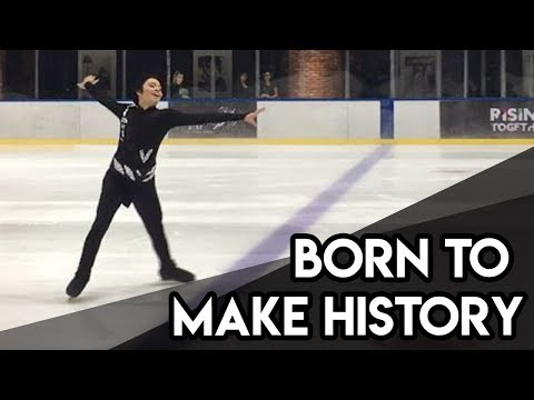 Yuri!!! On Ice - Born To Make History OP Live - Anime On Ice Festival 2017