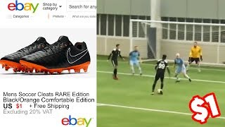 WEARING FAKE FOOTBALL BOOTS IN A REAL GAME vs MAN CITY