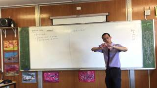Graphing Absolute Value Functions (1 of 2: y = 2(x+1) - |x+1|)