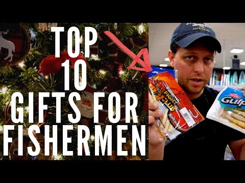 TOP 10 Fishing Gifts For Fishermen WHAT WE REALLY WANT Christmas 2019 Best Baits Lures Tackle Kayaks