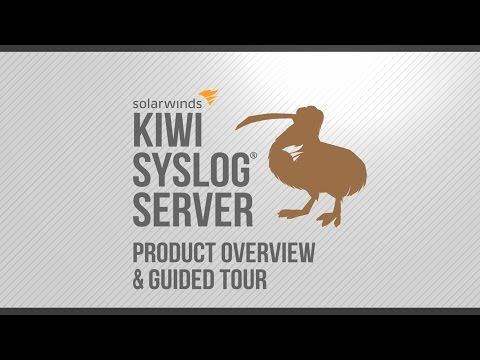 Kiwi Syslog Server: Product Overview & Guided Tour